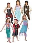 Girls Pirates And Mermaids Fancy Dress