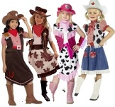 Girls Wild West Fancy Dress