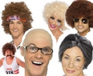 Afro, Clown & Novelty Wigs