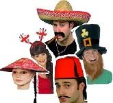 International Fancy Dress Hats
