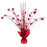 Valentines Day Heart Spray Centrepiece Table Decoration
