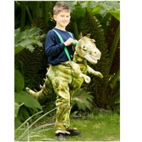 Childrens Ride On Dinosaur Fancy Dress Boys Girls Animal Step In Party Fancy Dress Costume