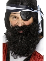 Fancy Dress Pirate Beard And Mustache Accessory