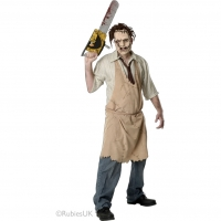 Mens Halloween Fancy Dress The Texas Chainsaw Massacre Leatherface Costume