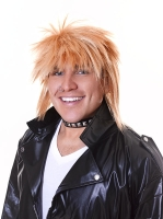 1980's Blonde Male Spikey wig