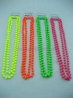 1980's Neon  Beaded Necklace