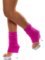 1980's Neon Leg warmers Hot Pink