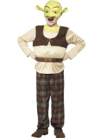 Childrens shrek fancy dress costume