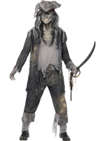 Ghost Ship Ghoul Pirate Costume