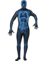 Second Skin Lycra X - Ray Bodysuit Costume