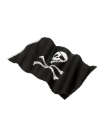 Pirate Party Flag Banner 152 X 91cm