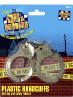 Plastic Handcuffs With Key