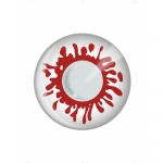 Blood Splat One Day wear Fashion contact Lens
