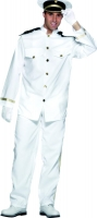 Mens Naval Captain Costume