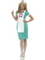 Scrub Nurse Fancy Dress Costume