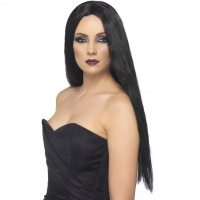 Halloween Black Straight Wig