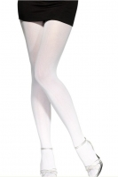 White Opaque Tights