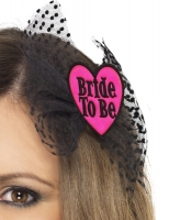 Hen Night Party Pink Bride to be Hair bow