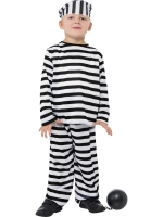 Childrens Prisoner Costume