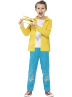 Willy Wonka Charlie Buchet fancy dress costume