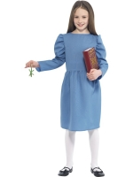Roald Dahl Matilda girls fancy dress costume