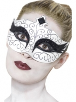 Deluxe gothic swan Masquerade Eye Mask