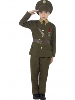 Army Officer Fancy Dress Costume