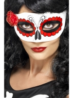 Day of the dead Masquerade Eye Mask Fancy Dress accessory