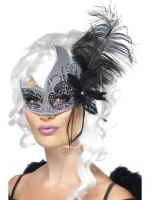 Deluxe dark angel Masquerade Eye Mask