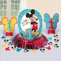 Mickey Mouse Fun to be One Table Decorating Kit Disney 1st Birthday Decoration