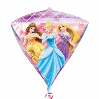 Disney Princess Diamondz Foil Balloon Disney Birthday Party Decoration