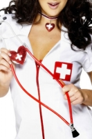 Sexy Nurse Stethoscope Red