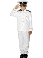 Boys Navy Captain Costume