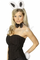 Hen Night Bunny Set -black & white
