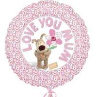 "Mother's Day Love You Mum 17"" Foil Balloon"