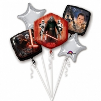 Star Wars The Force Awakens Balloons Bouquet Party Celebration Decoration's