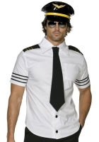 Mens Mile High Captain / Pilot Costume