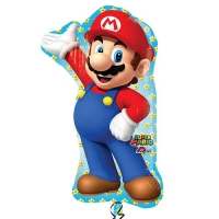 Super Mario Supershape Foil Balloon Party Celebration Decoration 33""