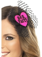 Hen Night Party Pink Hair bow