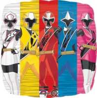 Power Rangers Foil Balloons Party Celebration Decoration's