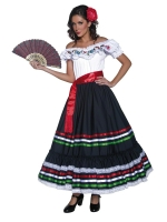 Ladies Mexican / Spanish Senorita Costume