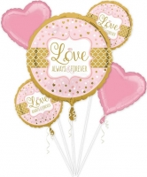 Always And Forever Wedding Balloon Bouquet Party Celebration Decoration
