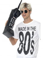 Hilarious Giant Inflatable mobile phone, a must have accessory for any 1980's Fancy Dress Party