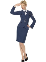 Ladies Airforce Captain Fancy Dress Costume