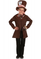 Childrens Little Mad Hatter Costume