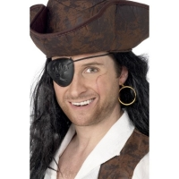 Fancy Dress 2 Piece Pirate set, eye patch and earring