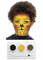 Tiger Make-Up Set and Eyepatch