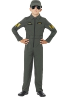Boys Aviator Flight Costume