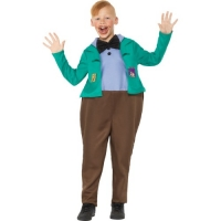 Roald dahl Augustus Gloop World Book Day Boys Fancy Dress Costume
