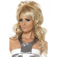 1960's Blonde Beauty Queen wig